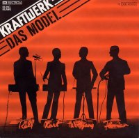 Cover art of Kraftwerk's single Das Model